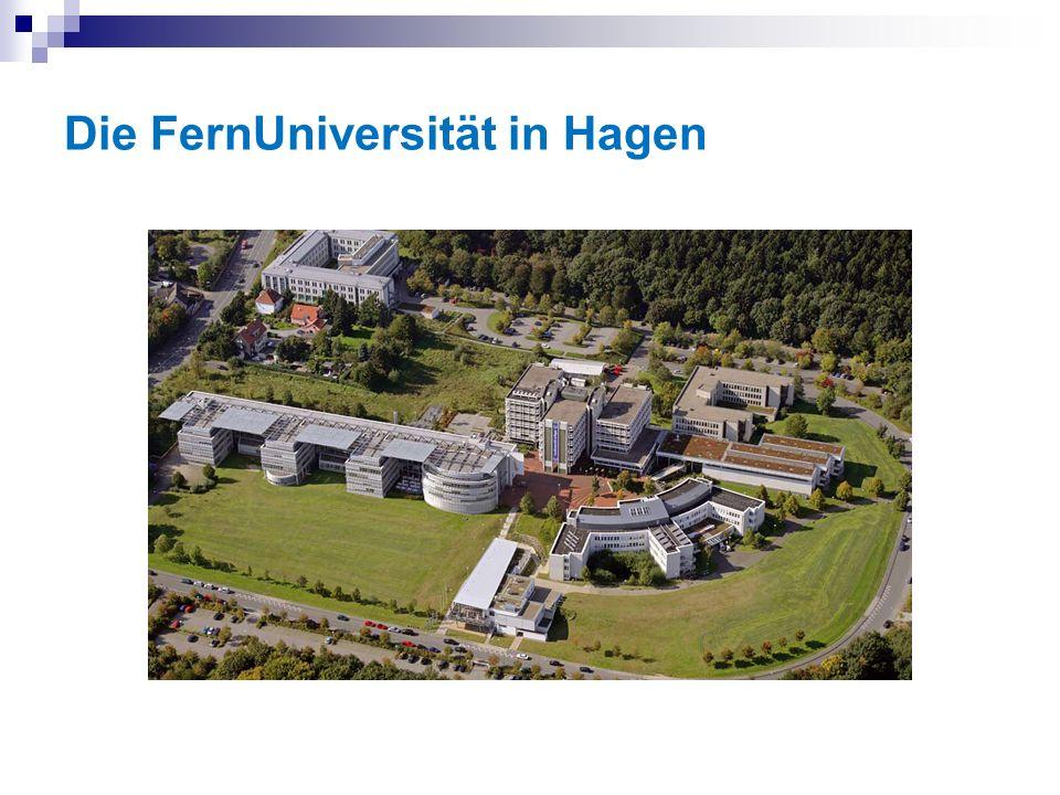 Die FernUniversität in Hagen