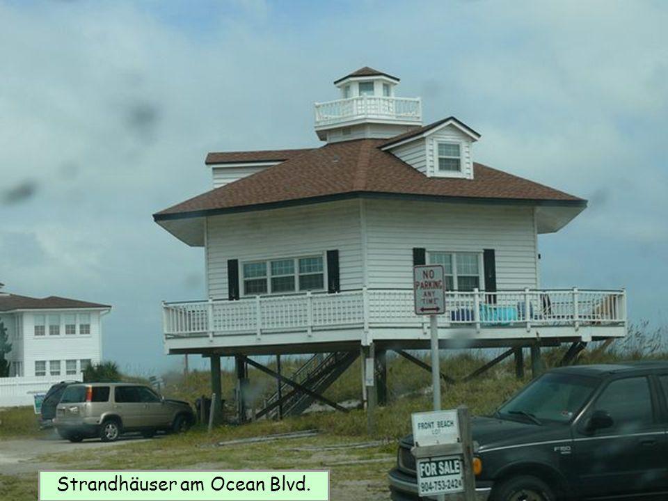 Strandhäuser am Ocean Blvd.