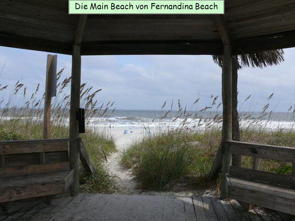 Die Main Beach von Fernandina Beach