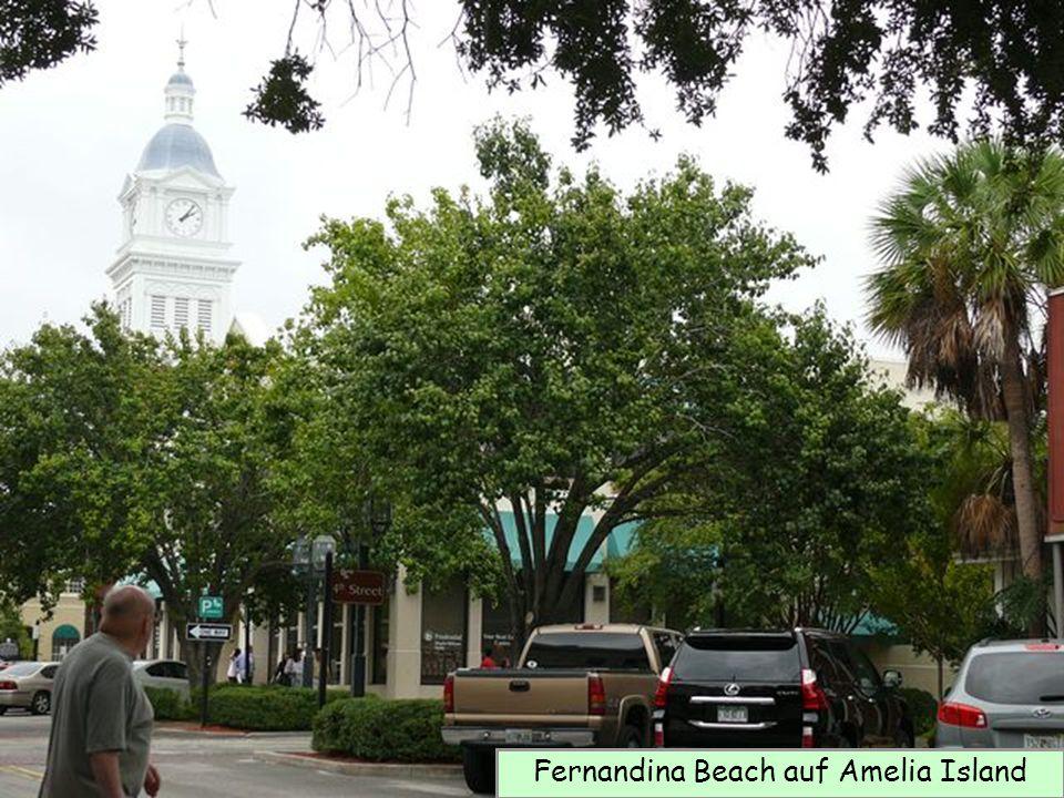 Fernandina Beach auf Amelia Island