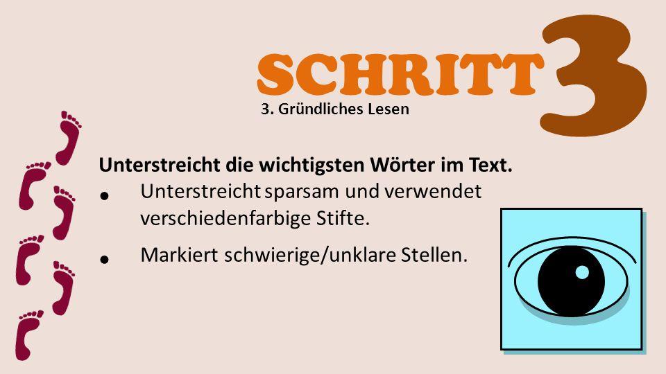 SCHRITT 4 4.