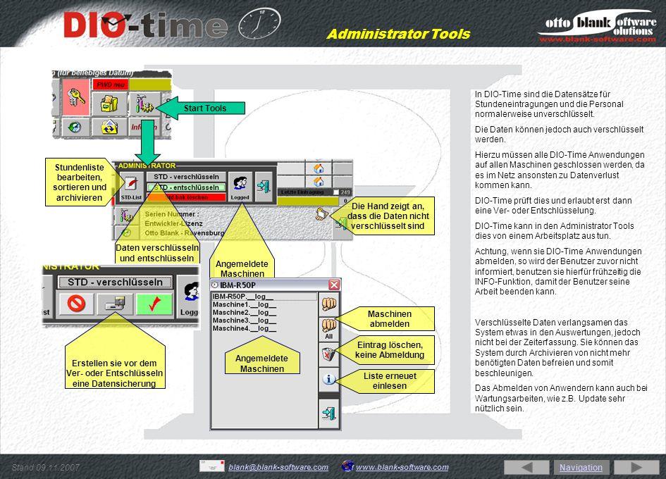 Stand 09.11.2007 www.blank-software.comblank@blank-software.com Sonder - Zeiteingaben Sondereingaben Sonder – Zeiteingaben können jederzeit unabhängig ob der Mitarbeiter angestempelt hat eingetragen werden.