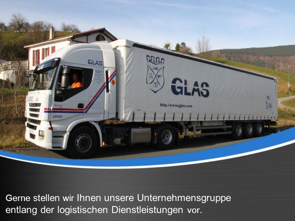 Gerne stellen wir Ihnen unsere Unternehmensgruppe entlang der logistischen Dienstleistungen vor.
