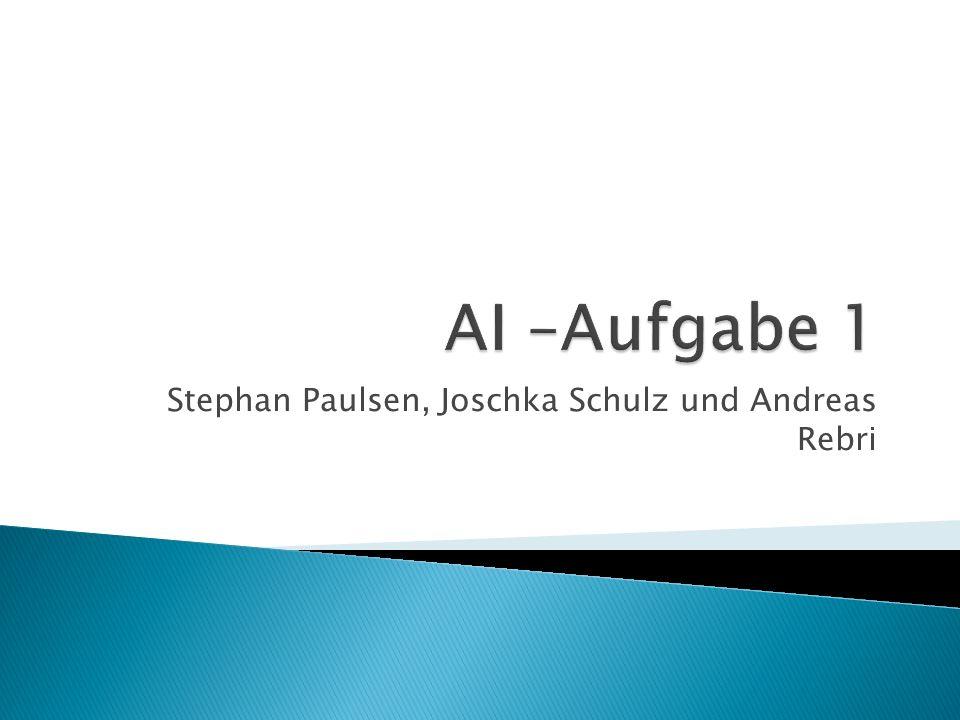 Stephan Paulsen, Joschka Schulz und Andreas Rebri