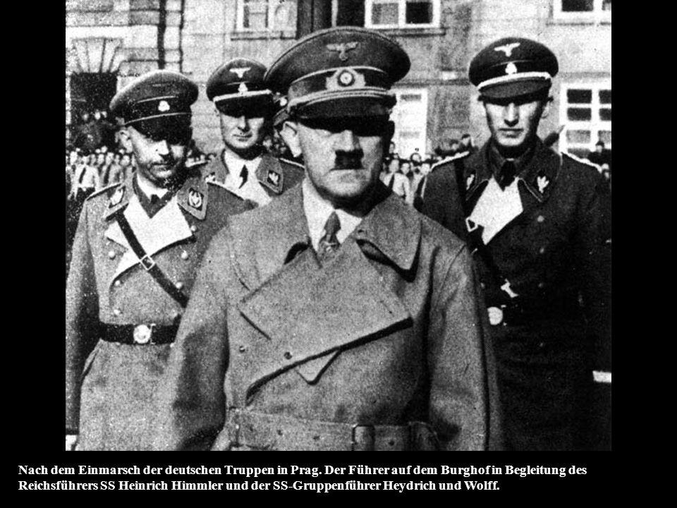 Der Stellvertretende Reichsprotektor in Böhmen und Mähren und Chef der Sicherheitspolizei und SD., SS-Obergruppenführer und General der Polizei, Reinh