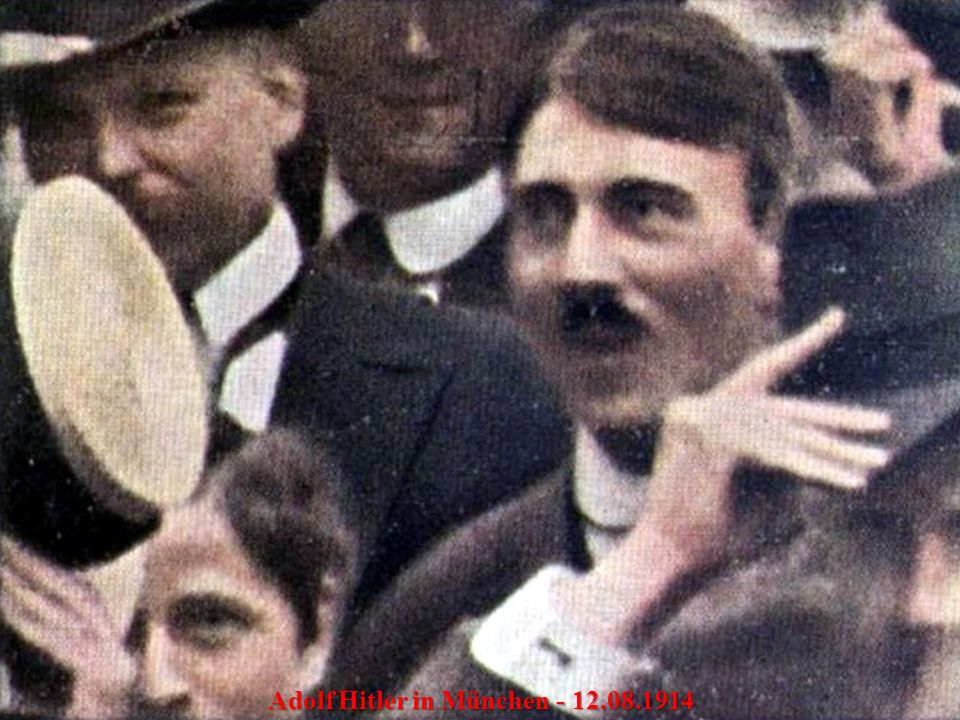 Der Führer nach dreistündige Rede