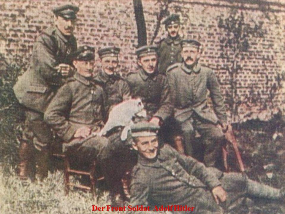 Adolf Hitler in München - 12.08.1914