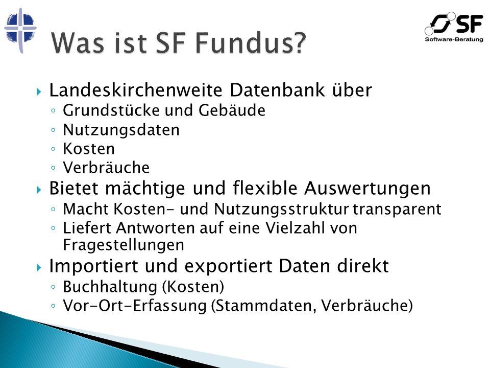 SF FundusExcel, WordDatenbank 1.Ad-hoc-Abfrage verwenden 2.
