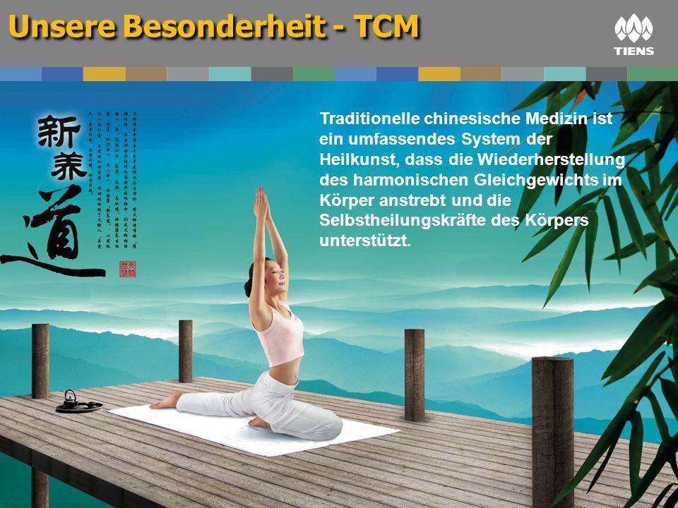 Unsere Besonderheit - TCM Traditionelle chinesische Medizin ist ein umfassendes System der Heilkunst, dass die Wiederherstellung des harmonischen Glei