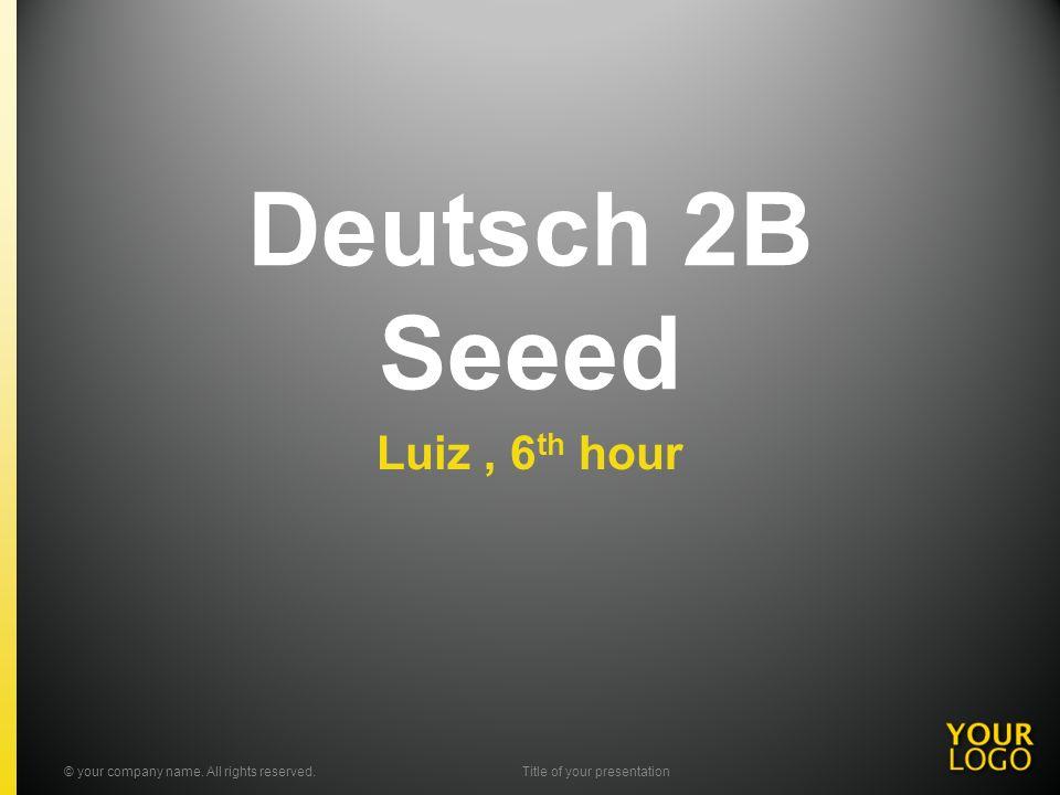 Seeed BesetzungDiscografie Bekanntes Lied Vorschlag © your company name.