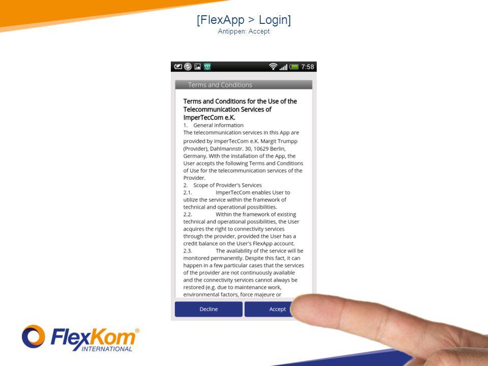 [FlexApp > FlexKobi > Meine Umgebung] Antippen: FlexKobi - Icon