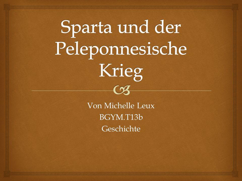 1.Gründung 2. Leben der Spartaner 3. Religion 4. Staatswesen 5.