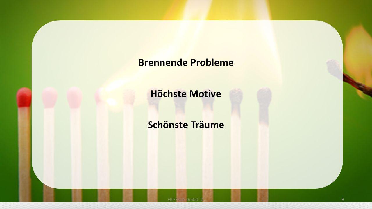 Brennende Probleme Höchste Motive Schönste Träume GEFFROY GmbH ©9