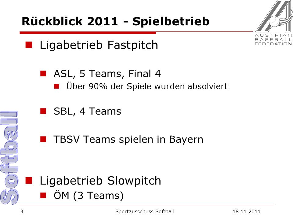 Europacups 2012 Fastpitch Europacup der Meister A-Pool .