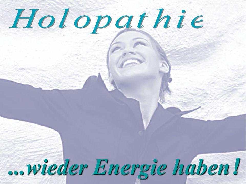 ...wieder Energie haben !