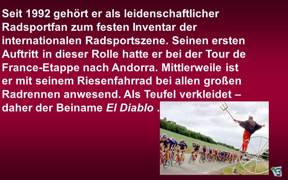 Dieter Didi Senft * 7. Februar 1952 in Reichenwalde bei Berlin alias El Diablo ist ein deutscher Schlosser, Künstler, Erfinder und Fahrrad-Designer au
