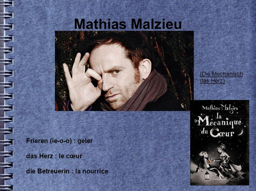Mathias Malzieu Frieren (ie-o-o) : geler das Herz : le cœur die Betreuerin : la nourrice (Die Mechanisch das Herz)