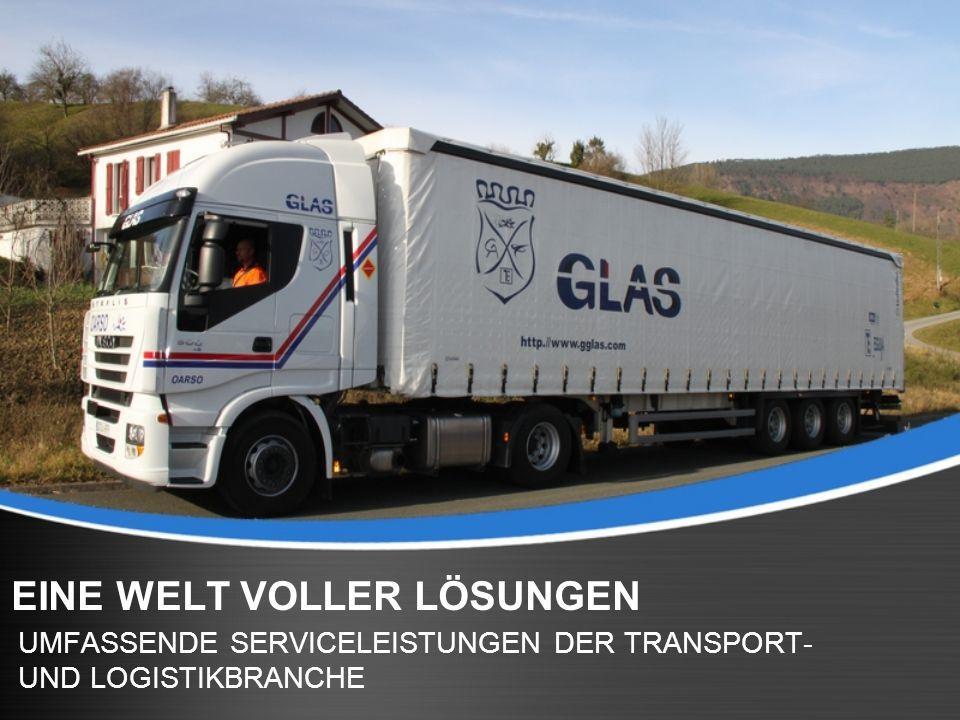 Page 2 WELTWEITER VERTRIEB G.L.A.S., ansässig in Irún / Spanien, ist eine Logistik-Firma mit einem weitverzweigten Netz aus Vertrieb und Transport für industrielle Paket- und Frachtsendungen.