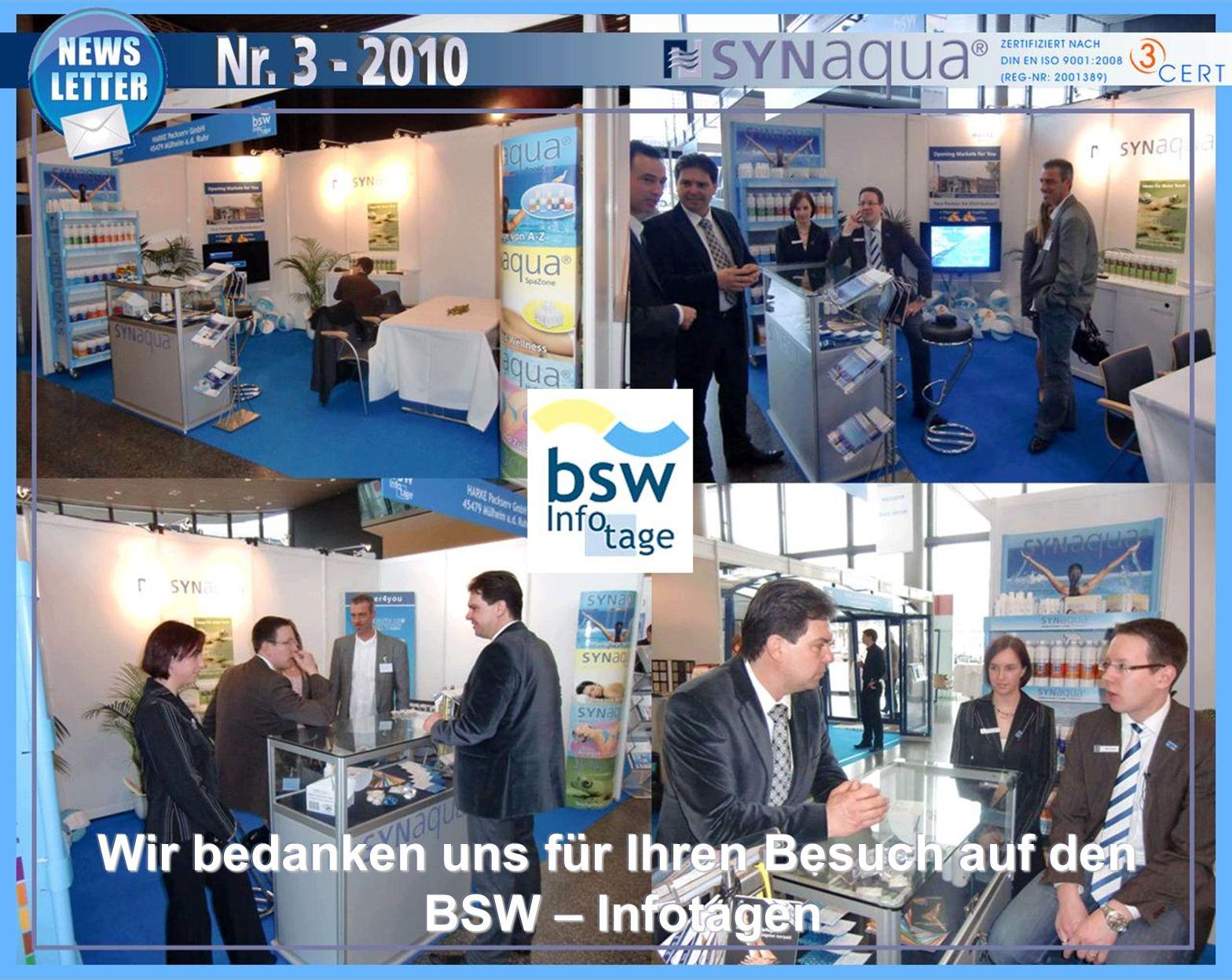 Wir bedanken uns für Ihren Besuch auf den BSW – Infotagen