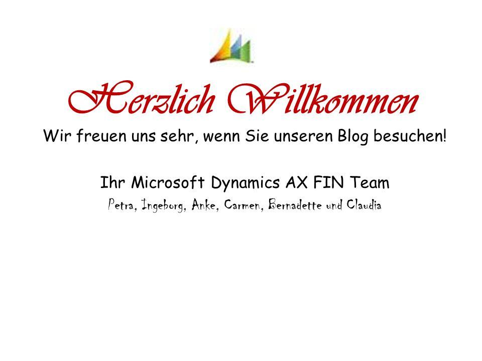 Herzlich Willkommen Wir freuen uns sehr, wenn Sie unseren Blog besuchen.