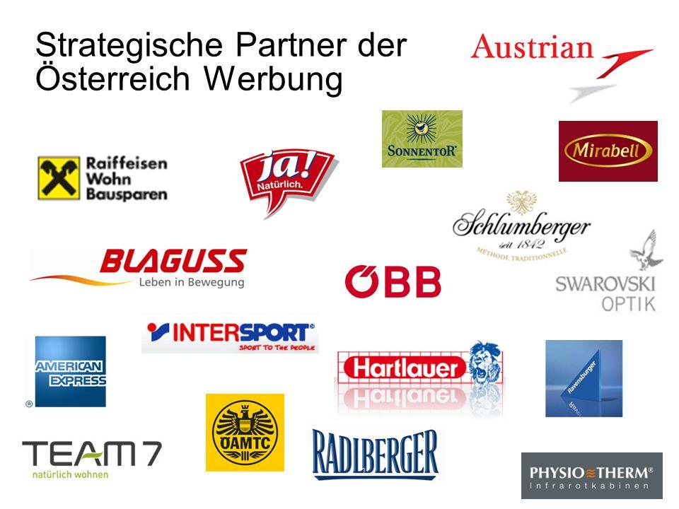 Strategische Partner der Österreich Werbung