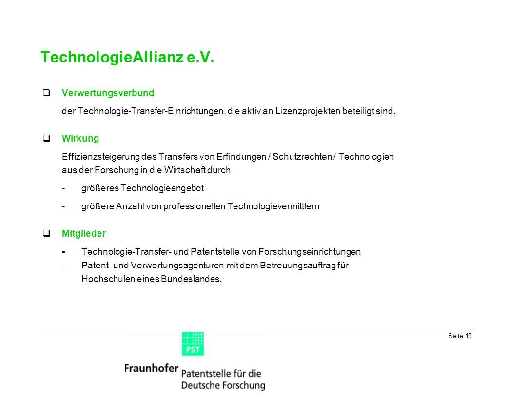 Seite 15 TechnologieAllianz e.V.