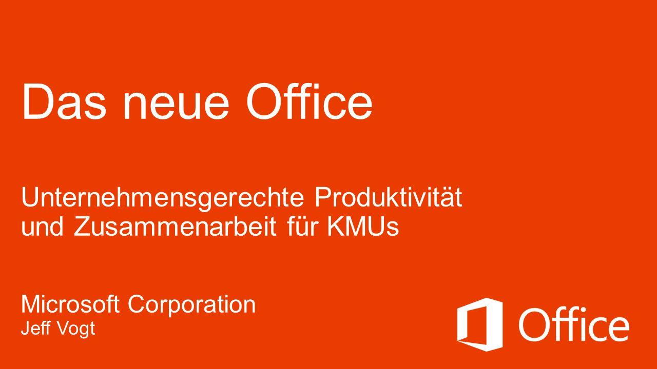 Office Demo und geschäftlicher Nutzen Damals und heute Wichtige Kundenaussagen Verkaufsmöglichkeiten Ressourcen