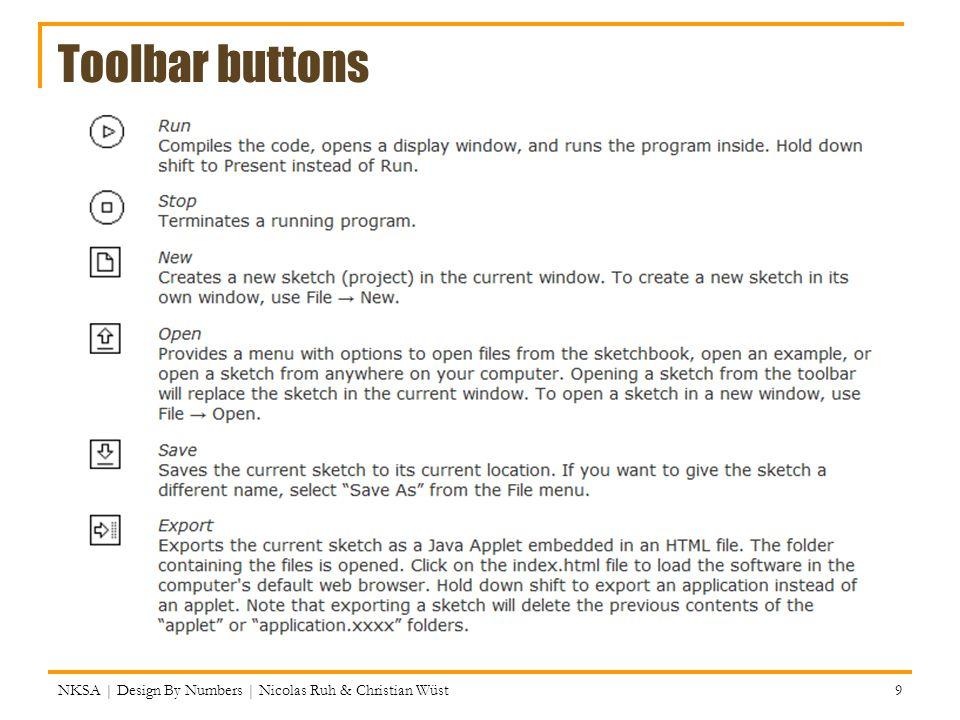Exercise 6.2: for-loop NKSA | Design By Numbers | Nicolas Ruh & Christian Wüst 80