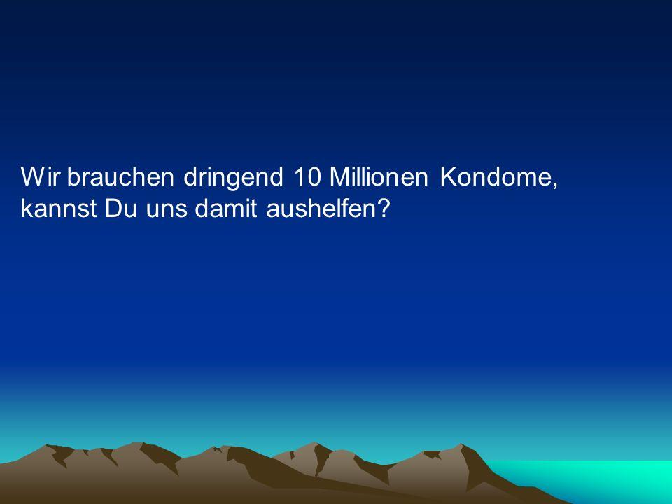 Sicher! antwortet Schröder. Ist kein Problem !