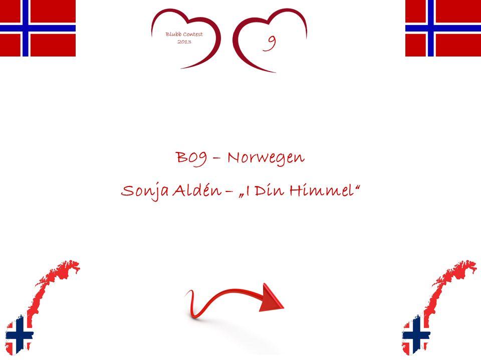 9 B09 – Norwegen Sonja Aldén – I Din Himmel