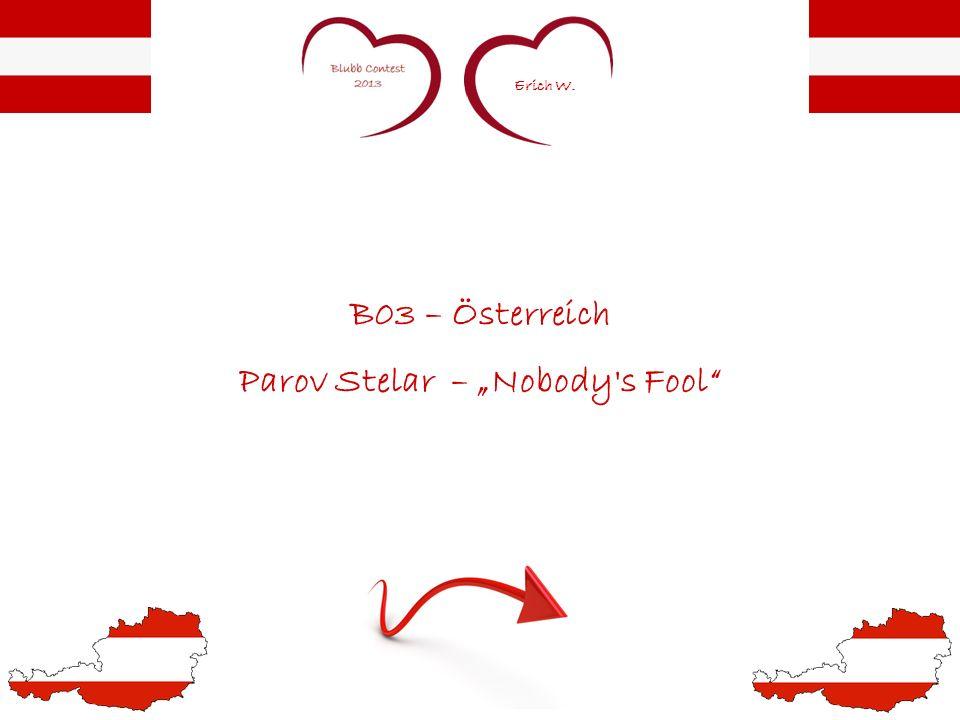 Erich W. B03 – Österreich Parov Stelar – Nobody s Fool