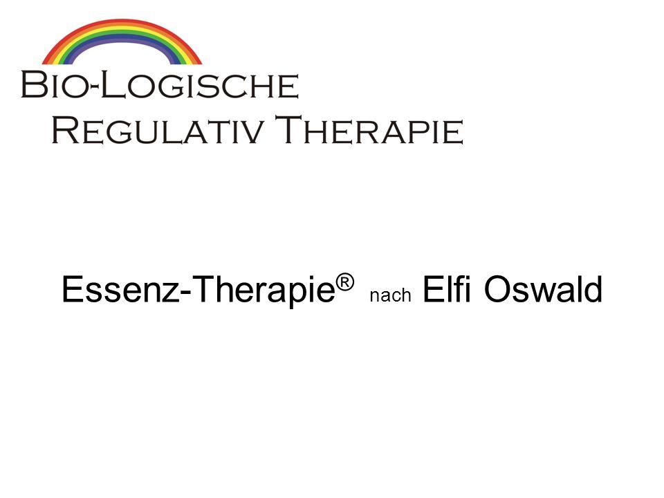 Essenz-Therapie ® nach Elfi Oswald
