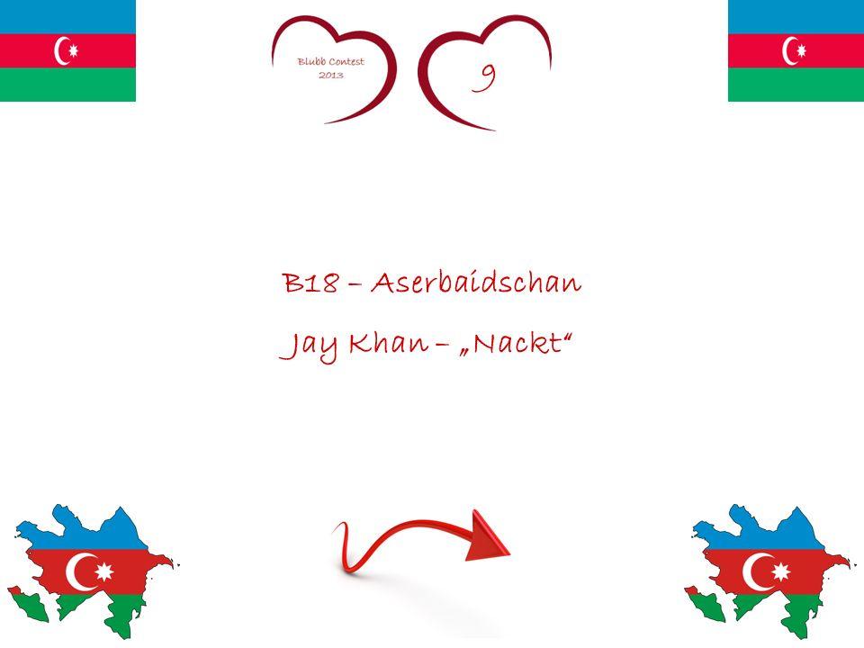 9 B18 – Aserbaidschan Jay Khan – Nackt