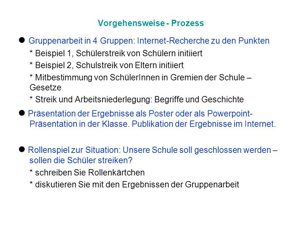 Ressourcen Gruppe 1 – Beispiel Albert-Einstein-Oberschule Eberswalde Ziele.
