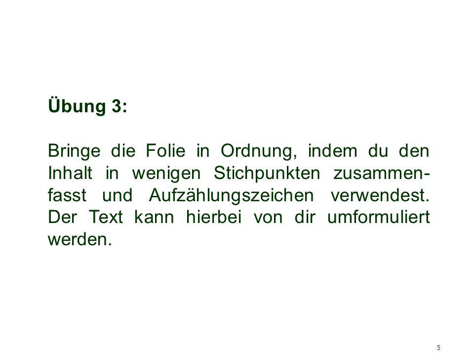 6 3.Stolperstein - Textbombe Diese Folie enthält zu viele Worte für eine gute Präsentation.