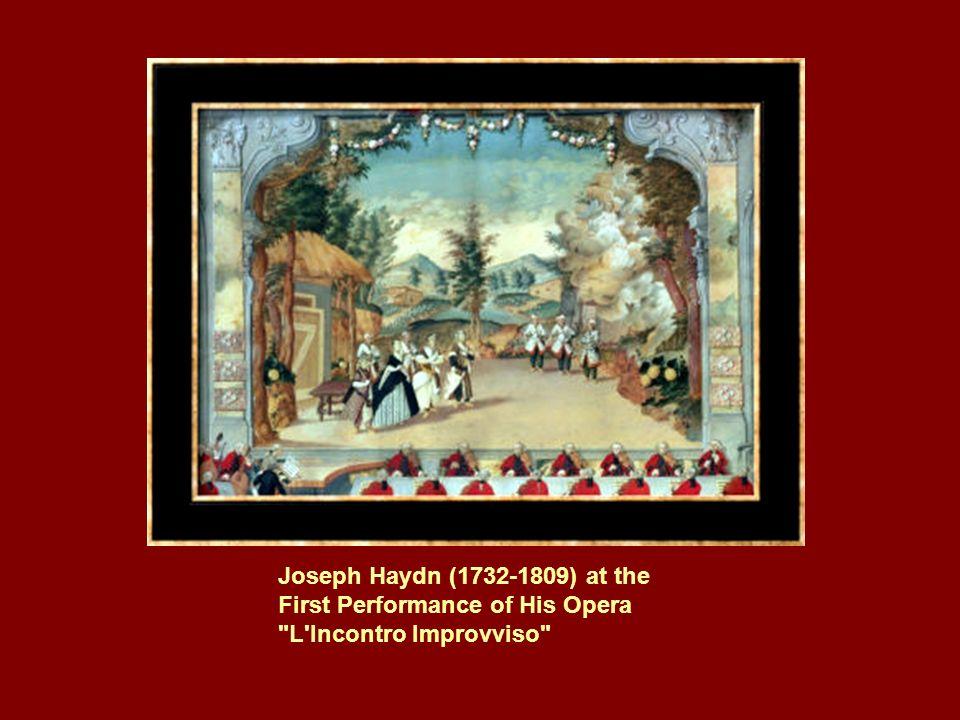 1792 zog Ludwig van Beethoven nach Wien. Hier nahm er Unterricht bei Haydn.