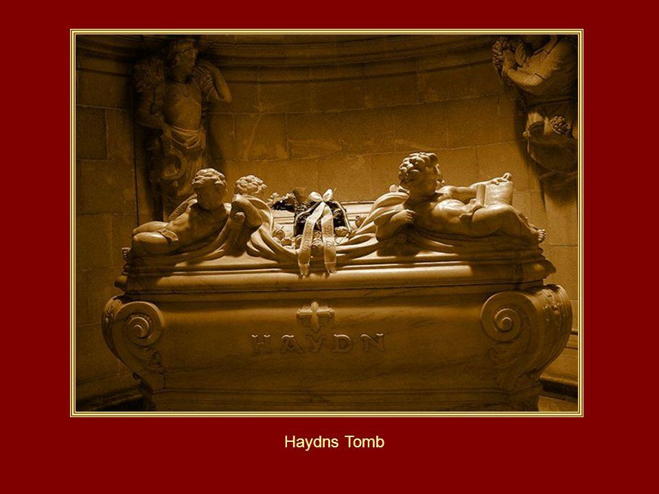 Die Haydnkirche in Eisenstadt mit der Gruft von Haydn!
