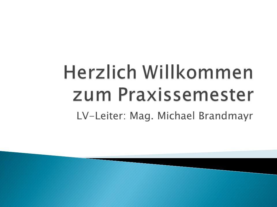 LV-Leiter: Mag. Michael Brandmayr
