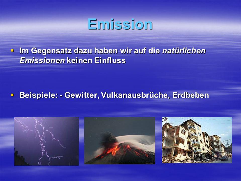 Verbrennung Einem Verbrennungsofen kann statt Frischluft auch verunreinigte Luft zugeführt werden, welche thermisch zerstört werden können.