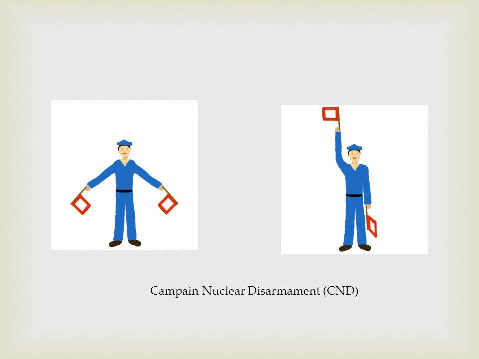 Campain Nuclear Disarmament (CND)