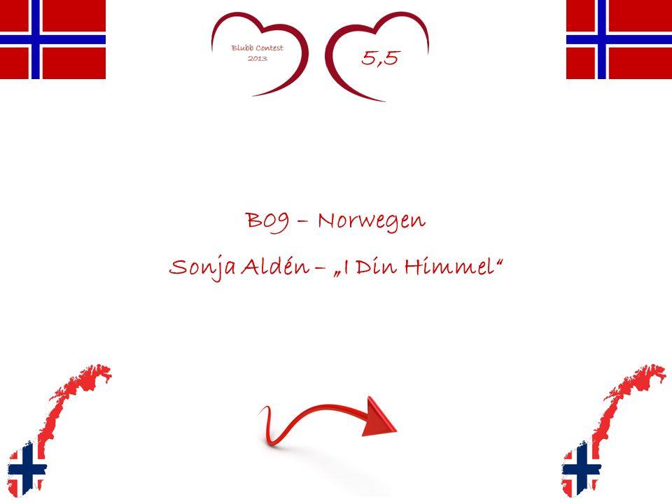 5,5 B09 – Norwegen Sonja Aldén – I Din Himmel