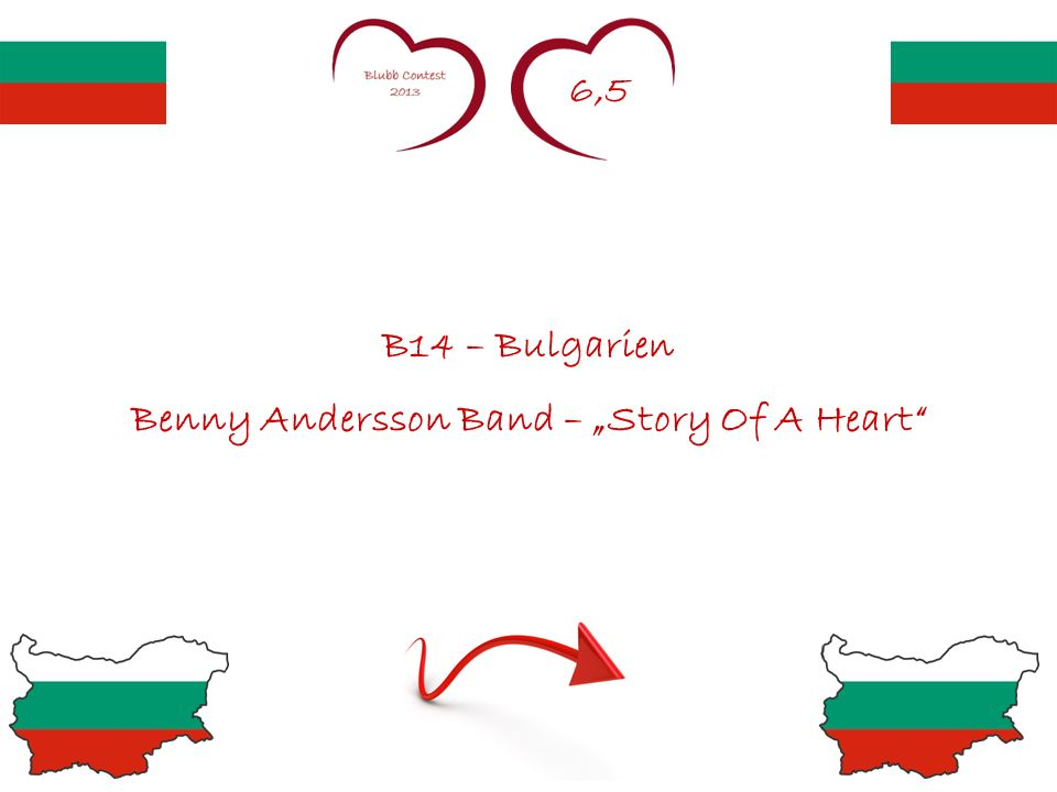 6,5 B14 – Bulgarien Benny Andersson Band – Story Of A Heart