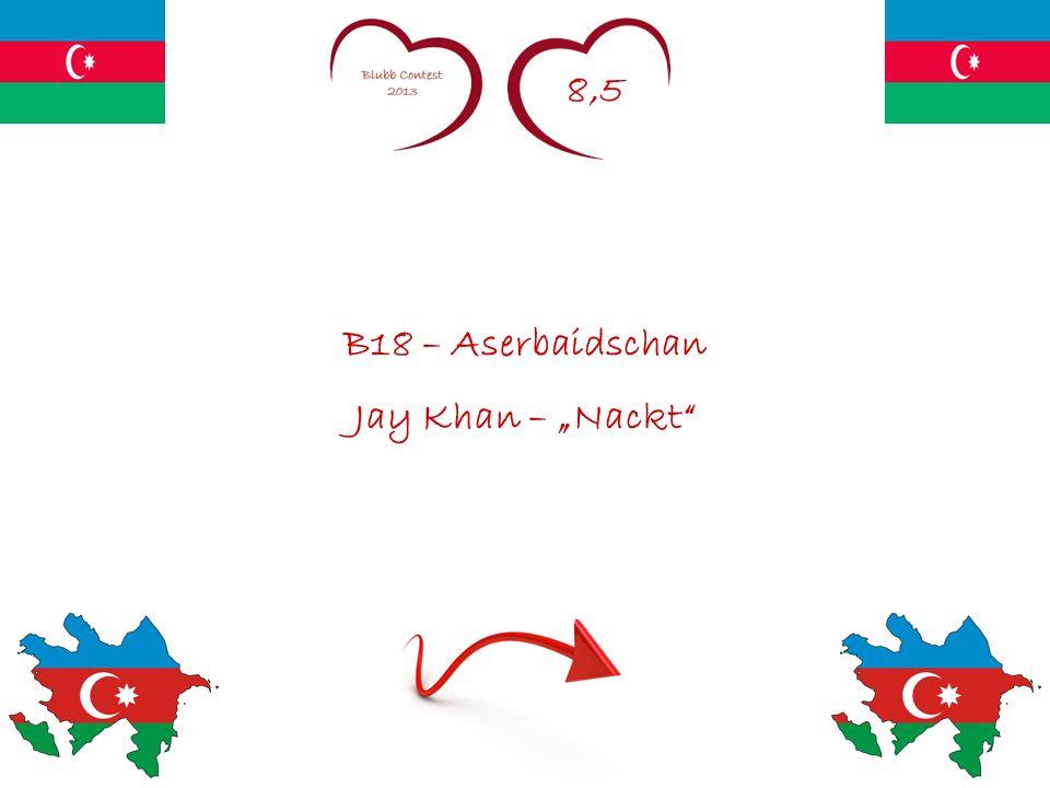 8,5 B18 – Aserbaidschan Jay Khan – Nackt