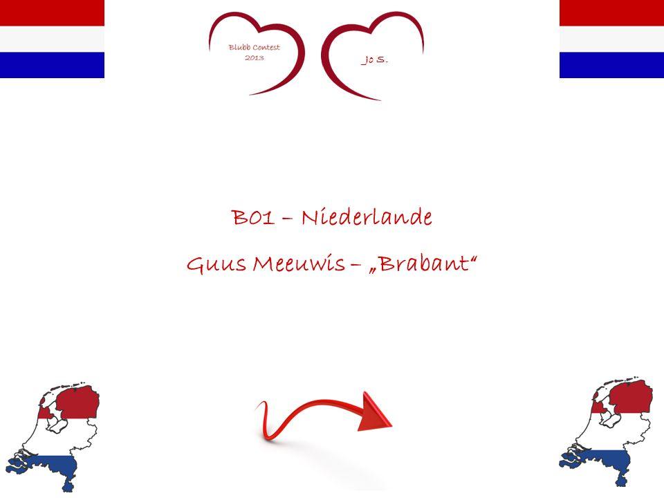 Jo S. B01 – Niederlande Guus Meeuwis – Brabant