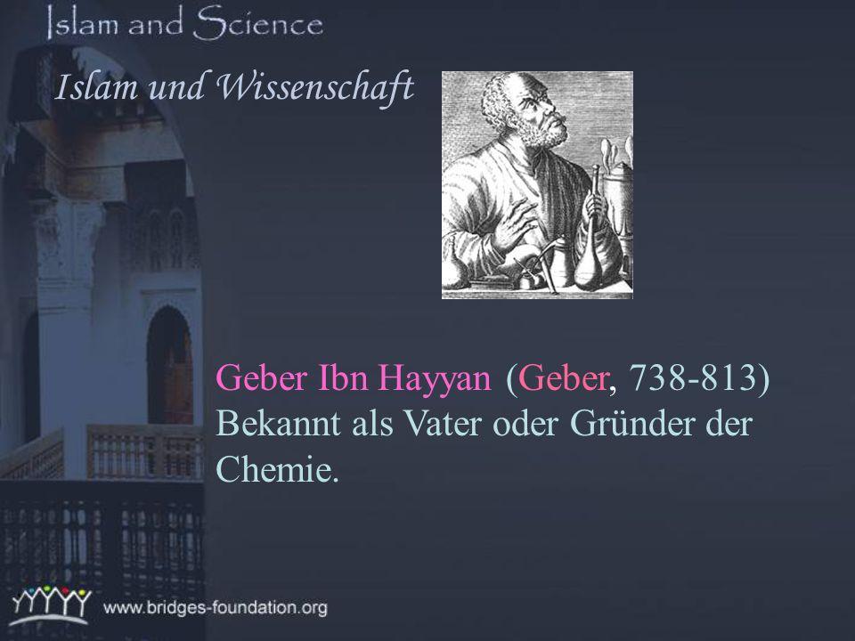 Religion & Wissenschaft sind im Islam assoziiert und Wissenschaft Islam und Wissenschaft
