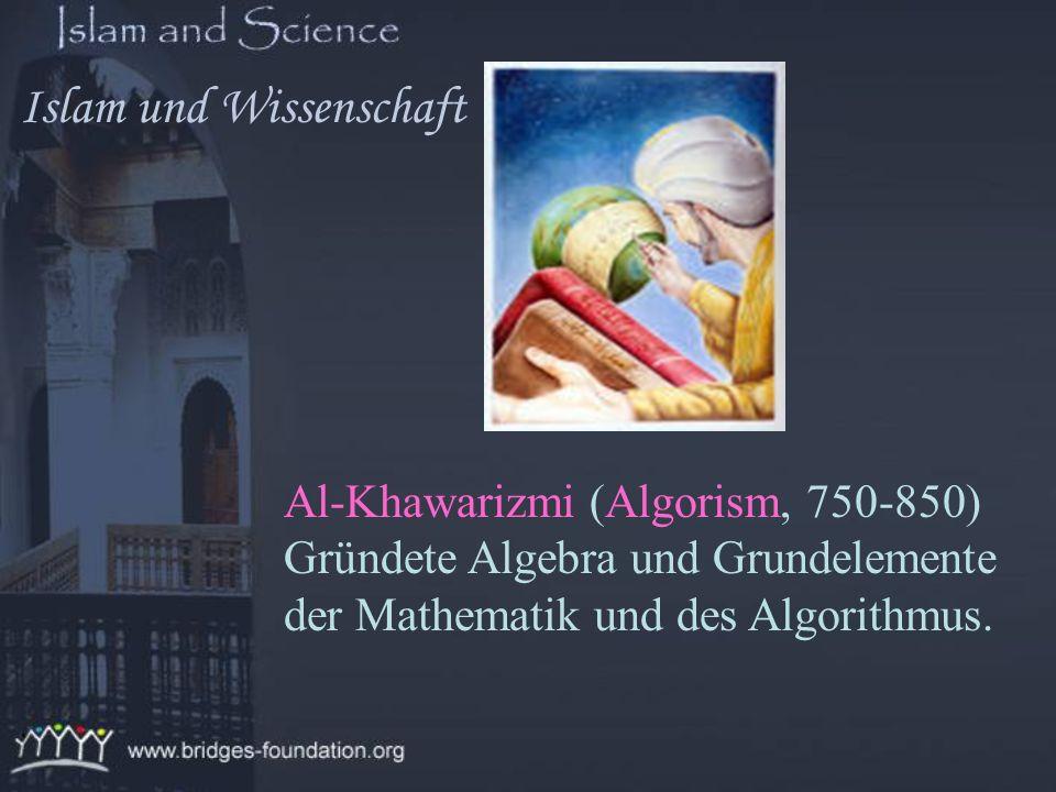 Geber Ibn Hayyan (Geber, 738-813) Bekannt als Vater oder Gründer der Chemie. Islam und Wissenschaft