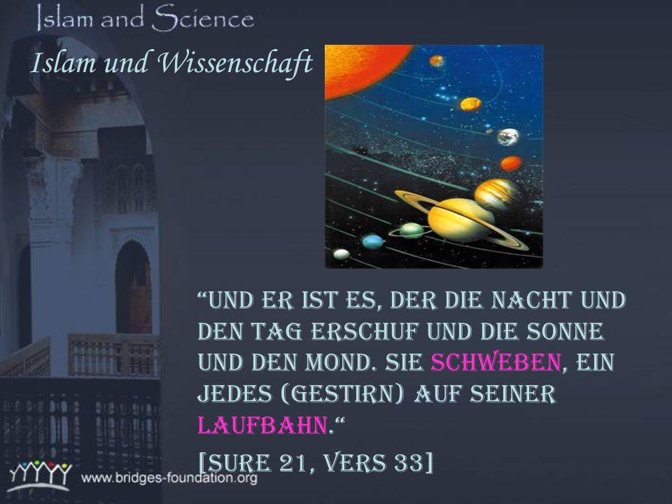 Viele wissenschaftliche Entdeckungen wurden für ein besseres Verständnis des Korans benutzt, was eine Anziehungskraft auch für die heutigen Wissenscha
