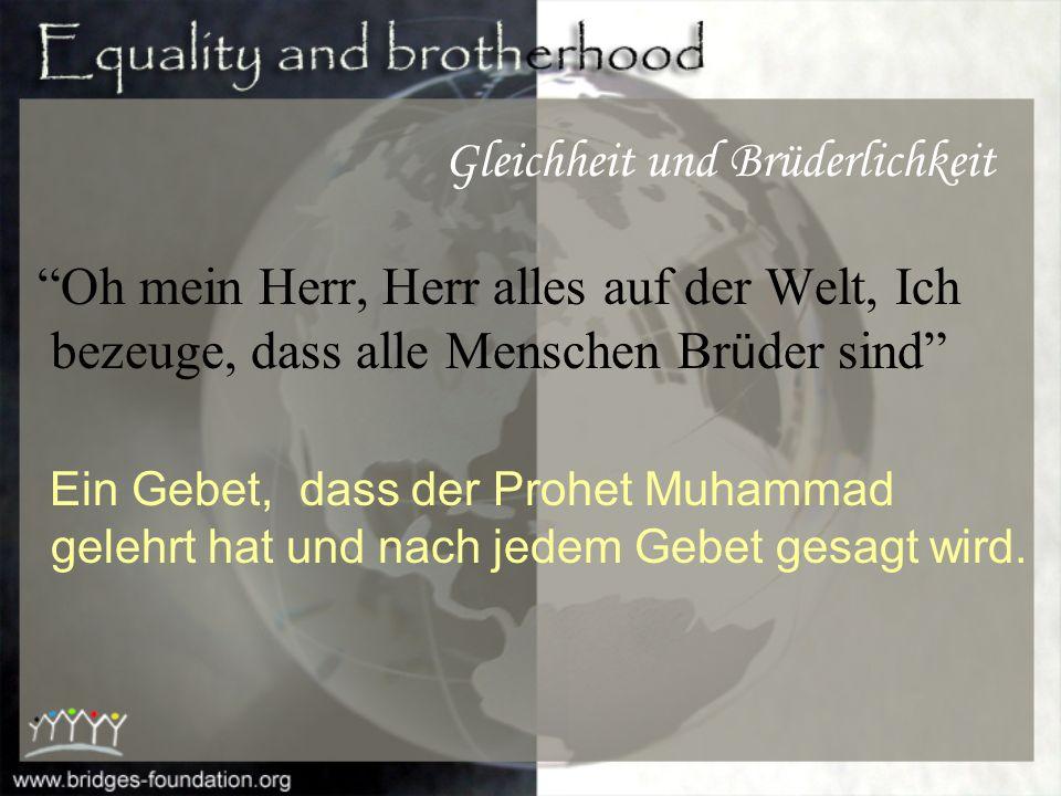 Prophet Muhammad (Friede sei auf ihm) sagte: