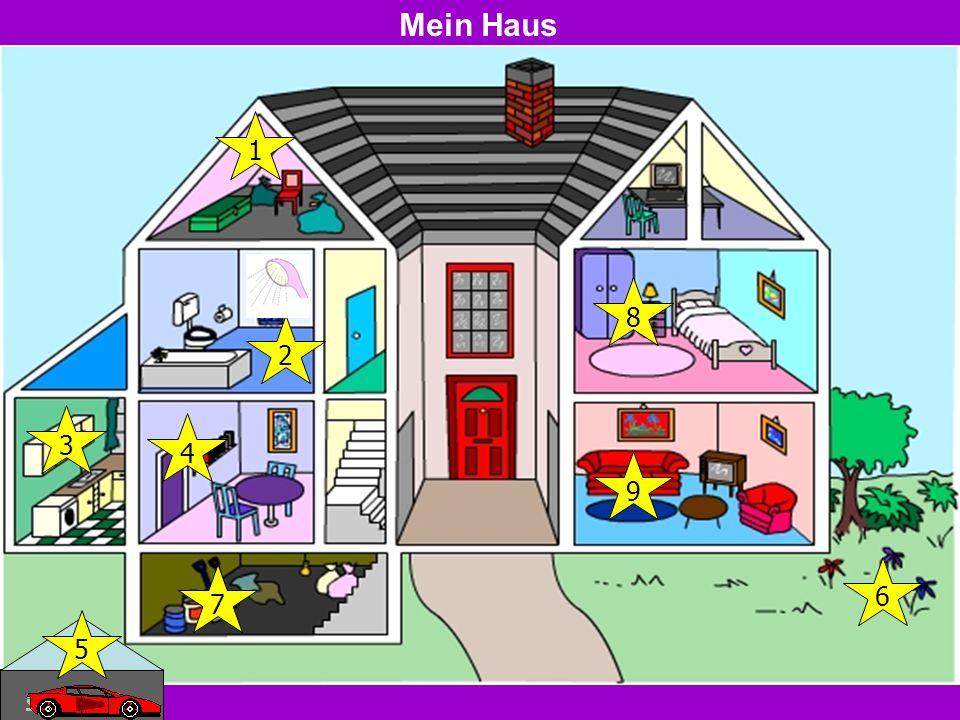 Mein Haus 1 2 3 5 7 4 8 9 6