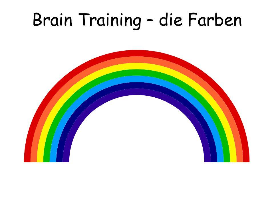 Brain Training – die Farben
